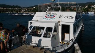 Barco a San Simon