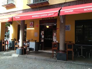 Bodega Santa Cruz. Sevilla