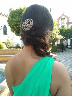 Peinado y peineta