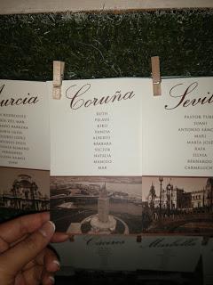 Mesa La Coruña
