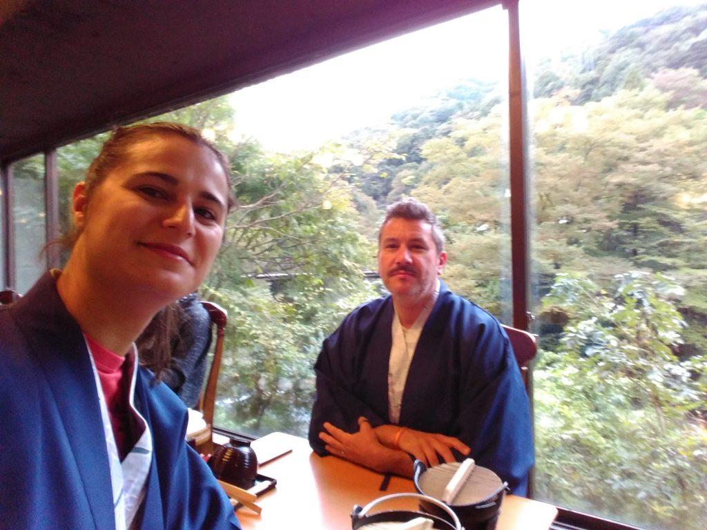 Desayuno en yukata