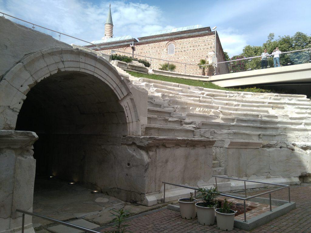 ESTADIO ROMANO DE PHILIPOPOLIS en Plovdiv