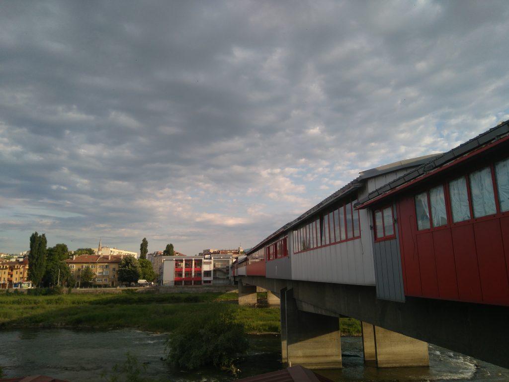 Puente sobre el río Martisa en Plovdiv