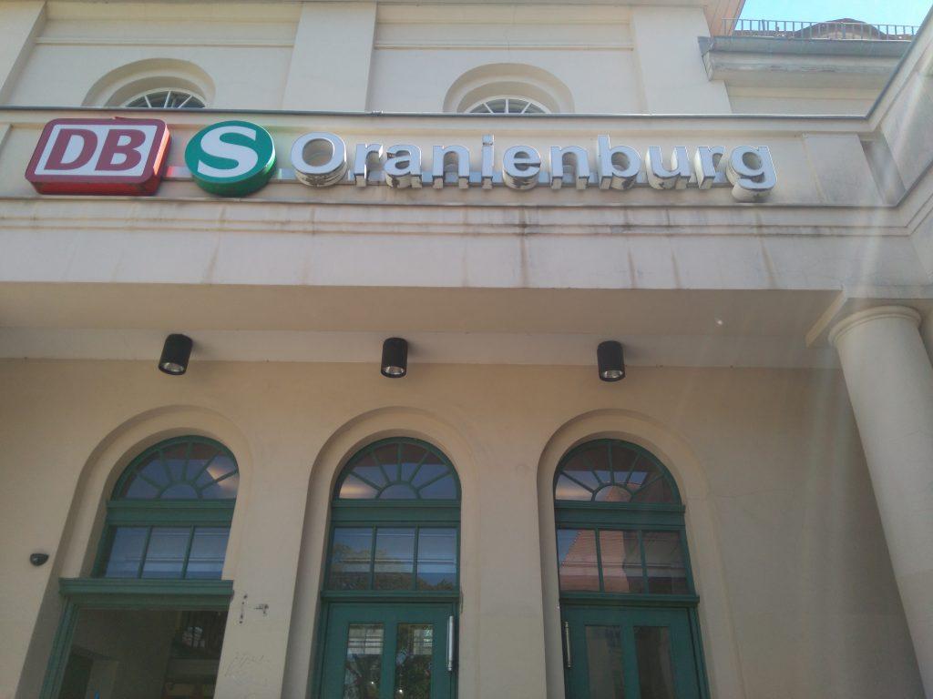 Estación de Oranienburg
