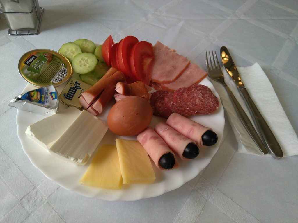 Desayuno Hotel Tsarevets en Veliko Tarnovo