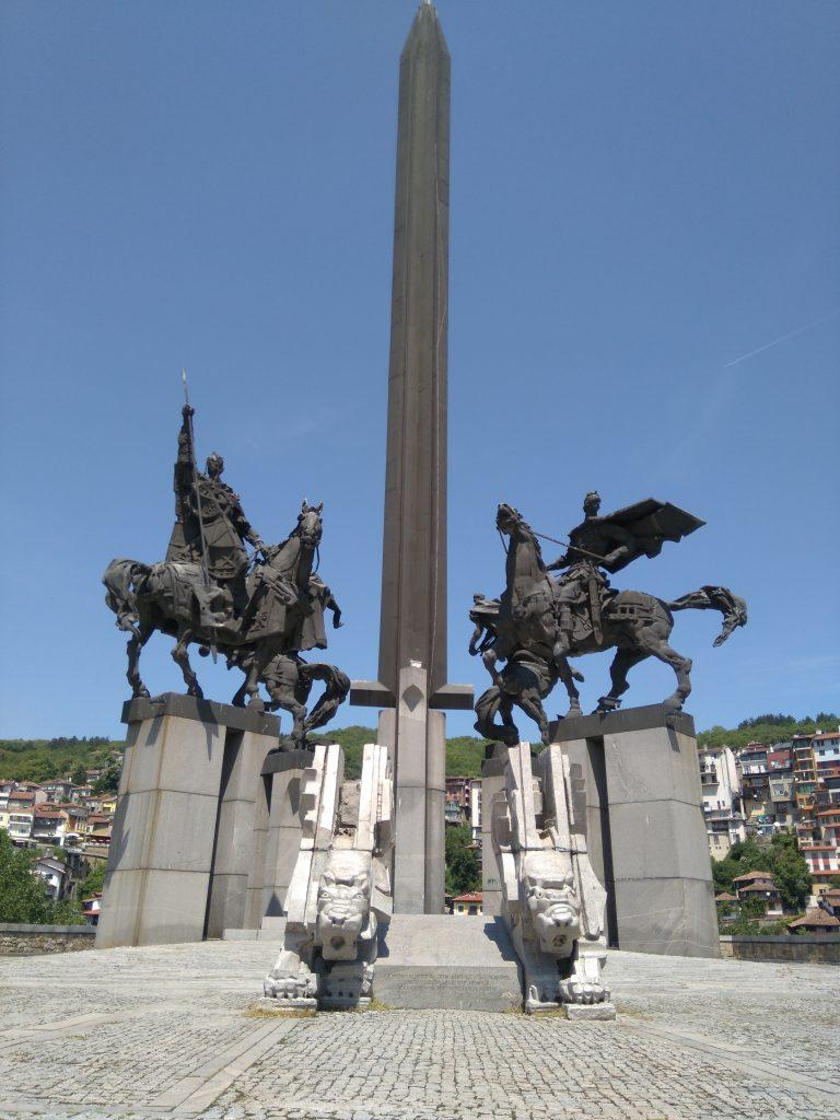 Monumento Cuatro Zares Veliko Tarnovo