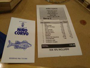 Niño Corvo Vigo