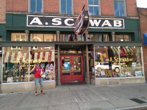 Schwab en Beale Street