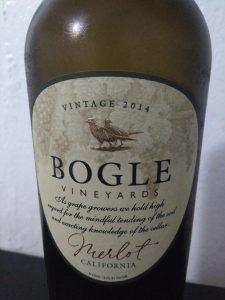 Merlot de Bogle