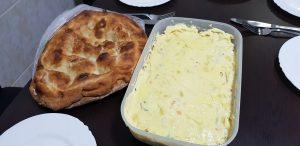 Pan y ensaladilla