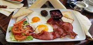 Desayuno en Old Jack. Brasov